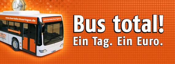 Busfahren und Gutes tun - am Ein-Euro-Tag 2017!