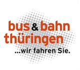 Logo  bus & bahn thüringen - Zum Routenplaner für Bus und Bahn - öffnet in neuem Fenster